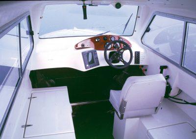 Insulaner Motorboot, Innenansicht