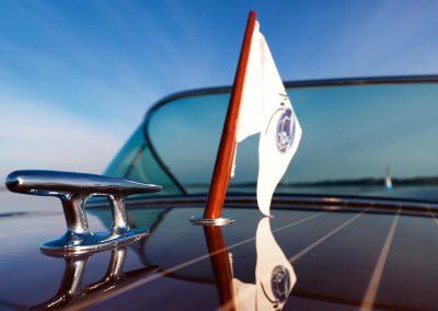 Elektromotorboot 820 Sprint - liebevolle Details