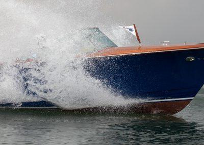 Elektromotorboot 820 Sprint in voller Fahrt