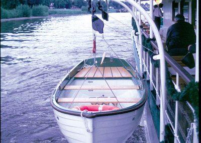 Rettungsboote für Elbdampfer