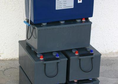 10kWh-Lithiumbatterie und 10kWh-Bleibatterien