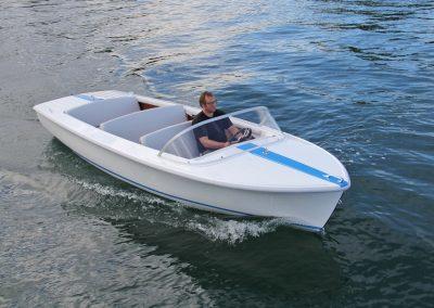 Elektro-Motorboot 600