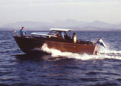 Mahagoni-Motoryacht 150 PS 1972