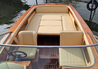 Elektromotorboot 820 Sprint - variable Liegefläche