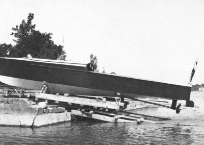 75km/h-Motorboot mit Flugmotor 1928