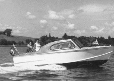 Kabinenboot 1956
