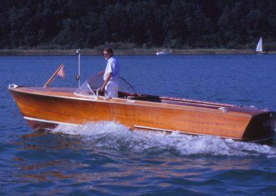 60 PS-Motorboot 1956