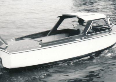 6,3m-Elektrokabinenboot 2000W 1972