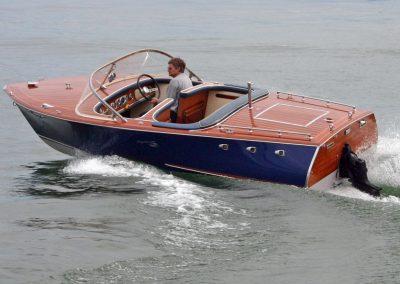 """Motorboot """"Flipper"""" nach der Renovierung"""