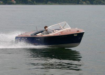 "Motorboot ""Delphin"" 150 PS 1967"