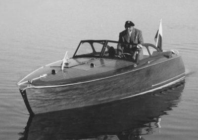 60 PS-Motorboot 1954