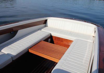Elektro-Motorboot 670 Sprint mit variabler Liegefläche