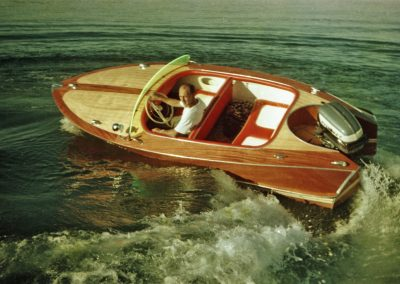 """Motorboot """"Trixi de Luxe"""" 1958"""