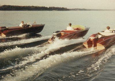 """Motorboote """"Trixi de Luxe"""" 1958"""