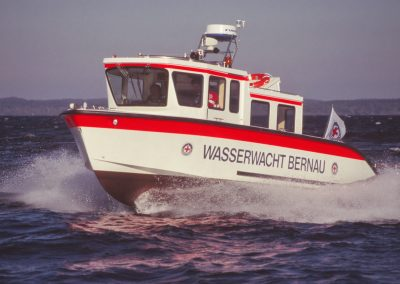 Seenot-Rettungsboot der Wasserwacht Bernau
